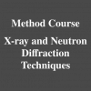Method Course: X-ray Diffraction Techniques