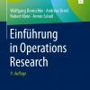 Operations Research / Einführung in die Wirtschaftsinformatik für Ingenieure III (Vorlesung)